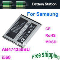 Rechargeable Mobile Battery AB474350BU For Samsung i560 Battery Bateria Baterija Baterai AKKU