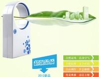 MOQ:1pcs,ABS Mini Bladeless Fan Air Conditoner Hold USB Cooling Fans/usb desk fans,Free shipping,D0046