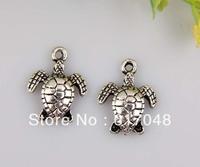 wholesale 180pcs zinc alloy turtles charms/pendants 15x12mm C260C