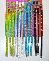 "12PCS Pet Dog diamond Cat Collar S size11.8"" Wholesale free shipping"
