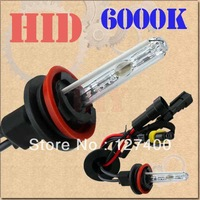 2pcs H11 HID Xenon Pure White Replacement Car 6000K 35W Headlight Headlamp Bulb Lamp
