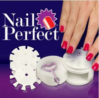 Free shipping AS SEEN ON TV 1set Creative Nail Perfect Salon Art Set Tool Retail Box