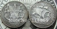 PORTUGAL 10$10 ESCUDOS 1933 COIN COPY FREE SHIPPING