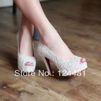 Women's shoes 2013 round toe open toe sandals princess women's high-heeled platform sandals