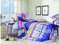Promotion 200*230cm Printed Pure Cotton 4Pcs Bedding Set/Duvet  Set/ Bedspread Quiltcover Set Home Textile Drop Shipping
