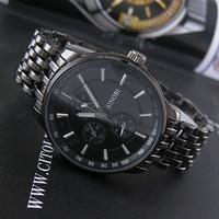 Hot-selling sinobi classic black male fashion quartz watch,sport watch for men brand watch,army watch 9268