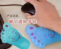 Oil transparent wrist support pad cartoon cushion cartoon mouse wrist support pad hand pad hand rest