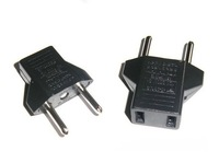 10PCS US&EU to EU AC Power Plug Travel Converter Adapter