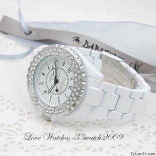 Hotest SINOBI rhinestone lovers watch fashion watch women's watch lovers table top quality waterproof wristwatches