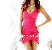 Free shiping 1pcs/bag 2013 summer new Europe and the United States sexy nightclub lead dancer dating ktv strapless dress