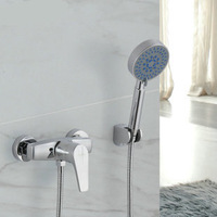 9568 shower faucet simple shower set cold and hot water