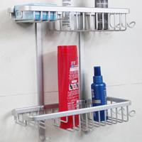 9519 space aluminum belt solid blue quartet basket thickening type shelf