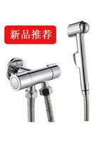 9251 toilet flush valve two-site triangle valve double switch toilet angle valve