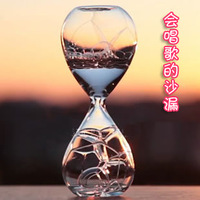 Bubble hourglass bubble oil timer birthday gift schoolgirl toy