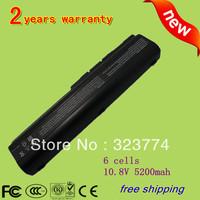 5200mAh Battery for HP Pavilion DV4 DV5 DV6 G71 G50 G60 G61 G70 DV6 DV5T HSTNN-IB72 HSTNN-LB72 HSTNN-LB73 Free shipping
