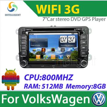 2 Din Car DVD Android Car radio for VW SAGITAR JATTA JETTA MAGOTAN PASSAT B6 MAGOTAN V6 PASSAT V6 Car GPS with 3G wifi