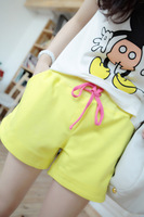 Free shipping 2013 summer fresh ice cream drawstring sports casual shorts