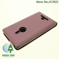For Nokia Lumia 925 Genuine Leather Flip Case Cover Phone Cases Hot Selling New Free Shipping 10pcs/lot