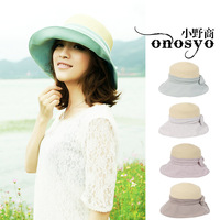 free shipping hot sell 2013 hat female flax straw japan disign ladies cap
