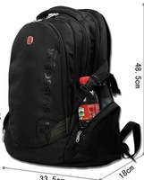 Swiss gear laptop bag 14 15 17 laptop bag male backpack women's travel bag