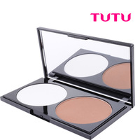 Professional Two-Color Trimming Powder Shadow Powder Face-Lift 20g Highlighter Bronzer Makeup  Face Powder