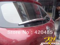 ABS Chrome Rear Window Wiper Nozzle Trim Fit For 07-12 Nissan Qashqai Dualis 2007 2008 2009 2010 2011 2012
