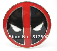 The Deadpool logo Belt Buckle