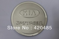 Stainless Steel Fuel Tank Gas Cap Cover Trim For 2011 2012 Kia Sportage