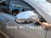 ABS Rearview Side Mirror Cover Trim For 2011 2012 Kia Sportage