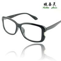 Fashion non-mainstream decoration glasses large frame eyeglasses frame vintage plain mirror eye box