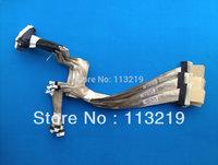 Laptop lcd cable for hp HDX18 HDX 18 DV8  DV8-1000  X18  X18-1000 P/N: DD0UT7LC000 can use on HDX 16 X16 Single lamp  machine