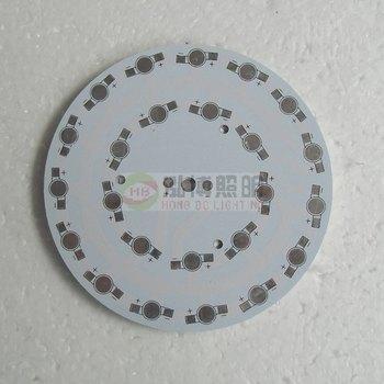 High power aluminum pcb circuit board led downlight 24w aluminum plate 118mm 0344