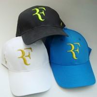 Free shipping(3pcs/lot)Roger Federer RF Hybrid Hat/tennis cap/tennis hat/tennis racket/tennis racquet