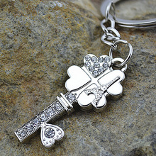 wholesale four leaf clover key chain