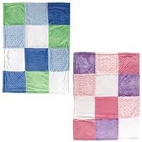 USA Hudson Baby Multi-Fabric 12-Panel newborn baby blankets
