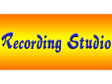 cheap recording studio signs