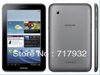 Screen Protector For Samsung Galaxy Tab2 7.0 P3100 P3110,Clear Screen Guard Film Free Shipping+1x touch pen+1x  dust plug
