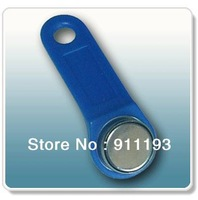 300pcs/lot 1990A-F5 TM card  tm sauna lock card Dallas ibutton touch memory button with handle For guard tour system