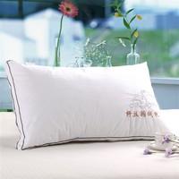 The bedding Textile 100% cotton health pillow bulkness velvet neck pillow soft type