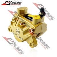 Motorcycle refit brembo pump abalone double piston calipers brembo brake calipers
