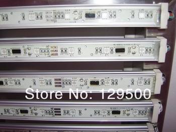 led pixel rigid strip,1m long,18pcs 5050 RGB SMD,with 6pcs TM1809IC,waterproof;DC12V input;aluminium alloy housing;16mm width