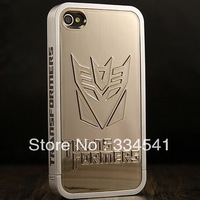 Free shipping America Captain Avengers Iron Man Batman Brushed Electroplating case for iphone4/4s