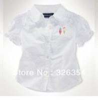 2013 hot sell high quality Baby summer shirt  girl/boys shirt 3013