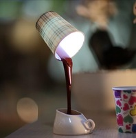 Bestselling dropshipping DIY LED Night Lamp Table Home Decoration Romantic Coffee Usb Or Battery Free shipping factory price