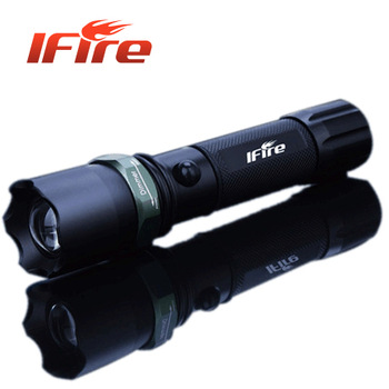 Glare flashlight ifire-803 q5 mobile phone usb charge the disassemblability life-saving hammer