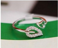 Fashion Gold/Sliver 1.7cm adjustable Romatic infinity less than $1 cheap Unisex alloy finger rings, Free shipping