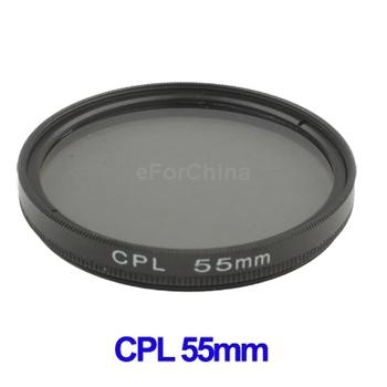 Wholesal 55mm Circular Polarizing CPL C-PL Filter Lens 58mm For Canon/NIKON/Sony/Olympus Camera