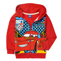 wholesale!TOP SALE! 2013  6pcs red cute cars full  sleeve cotton coats,children hoodies FREE SHIPPING!