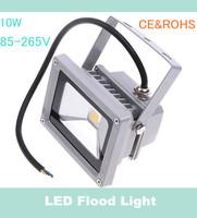 60pcs/lot 85-265V 10W Landscape Lighting IP65 LED Flood Light Floodlight LED street Lamp Free Shipping High Quality U34