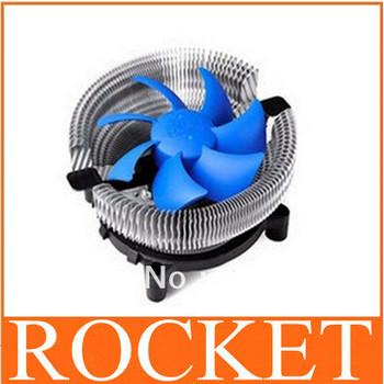 Free shipping! Desktop CPU cooling fan heatsink cooler for Intel CPU \ general radiator super mute